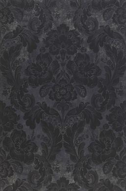 Wallpaper Anastasia anthracite Bahnbreite