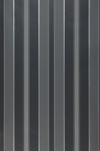 Wallpaper Catalea Matt Stripes Grey tones White aluminium
