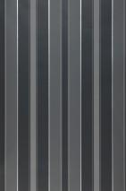 Papel pintado Catalea Mate Rayas Tonos de gris Aluminio blanco
