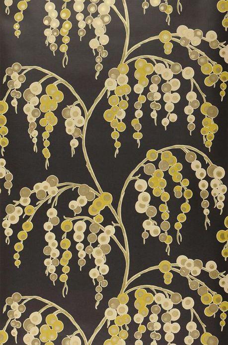Archiv Papel de parede Erigone verde amarelado Largura do rolo
