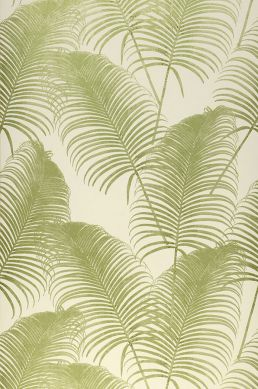 Wallpaper Milva light green shimmer Roll Width