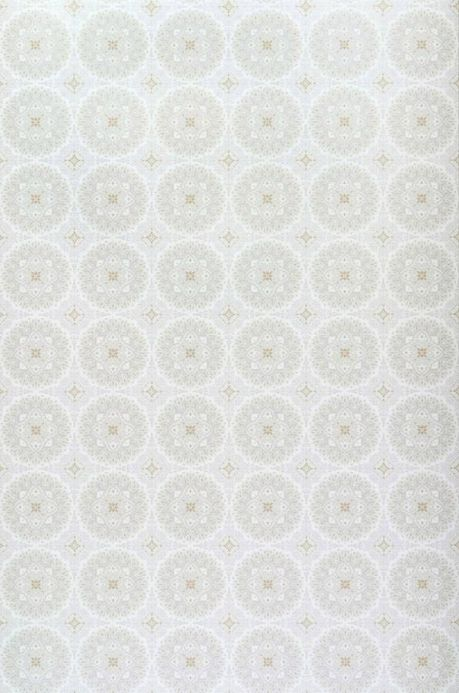 Archiv Papel pintado Finola blanco grisáceo Ancho rollo