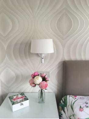 Wallpaper Tirion cream Room View
