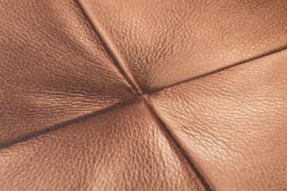 Carta da parati Maliure Brillante Simil pelle Marrone beige Bianco crema Marrone nocciola Marrone cioccolata