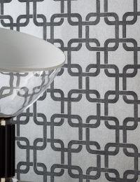 Wallpaper Gizmo silver grey
