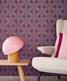 Papel de parede Imalas violeta avermelhado