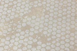 Wallpaper Ikebana Shimmering Shabby chic Aged patina Grey beige Silver