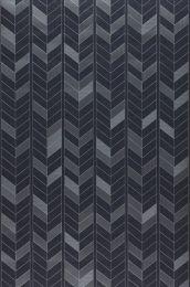 Wallpaper Herringbone by Porsche anthracite