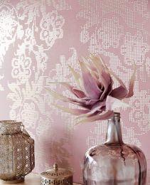 Wallpaper Siduri light pastel violet