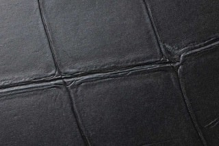 Wallpaper Croco 01 Shimmering Imitation leather Anthracite