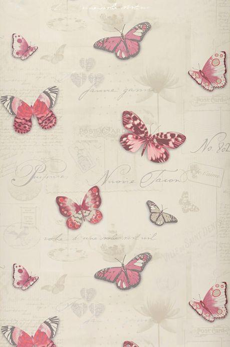 Archiv Wallpaper Bodola rose Roll Width