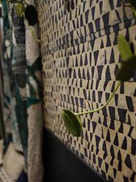 Papel de parede Tenpe cinza antracite