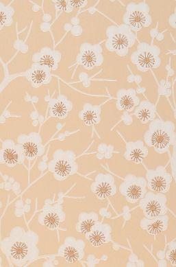 Wallpaper Laila light beige A4 Detail