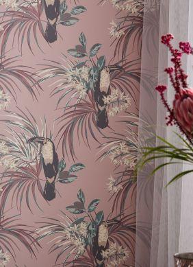 Papel de parede Toucan Jungle jacarandá pálido Ver quarto