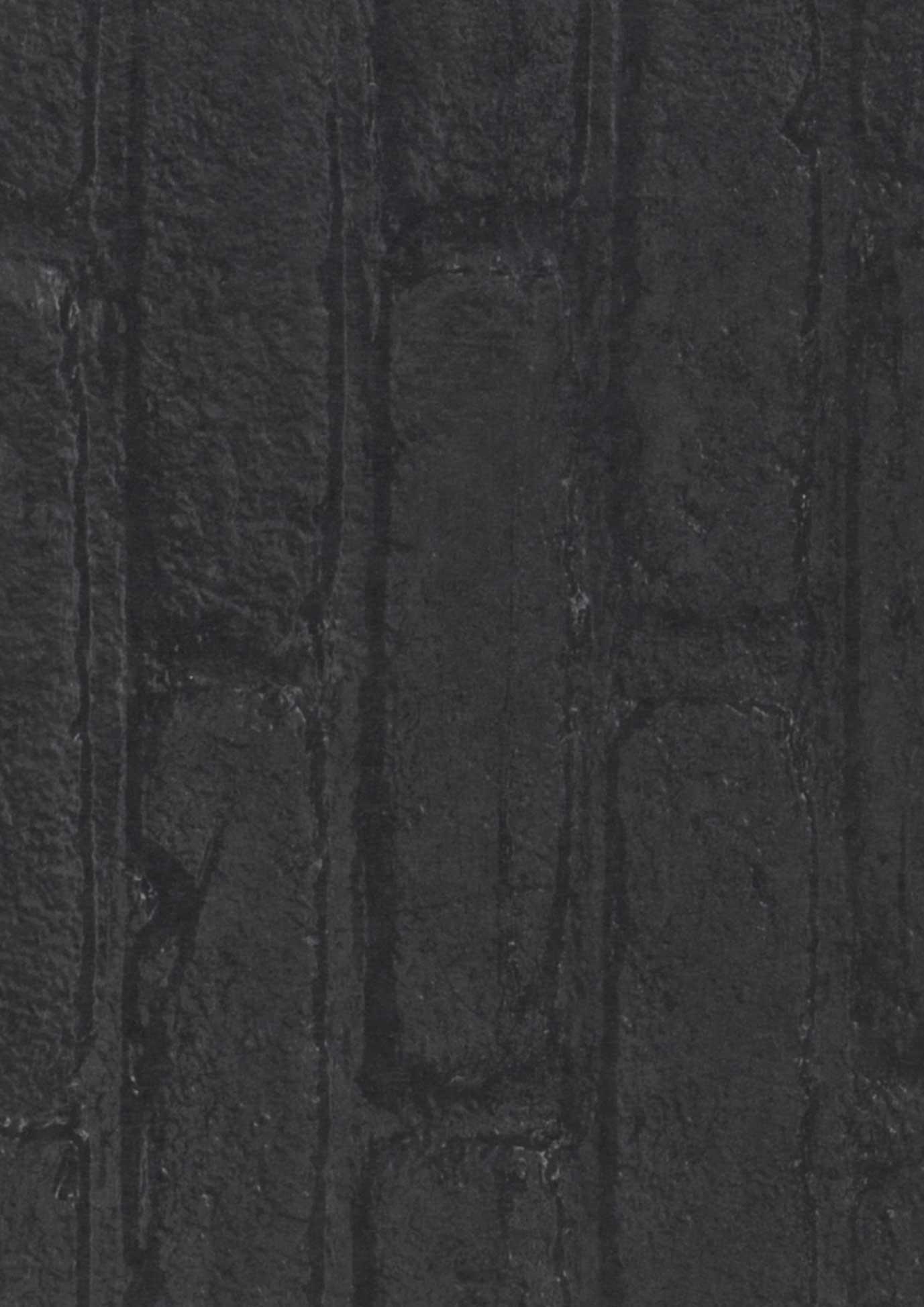 Tapete bricks 01 schwarz schwarzgrau tapeten der 70er for Tapete nach hause
