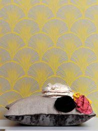 Papel de parede Nippon amarelo