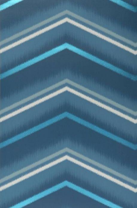 Archiv Papier peint Suna bleu Largeur de lé