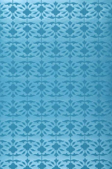 Archiv Papel de parede Luna azul turquesa Largura do rolo