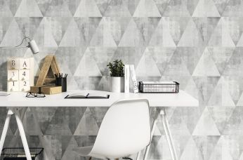 Wallpaper Sarino grey tones