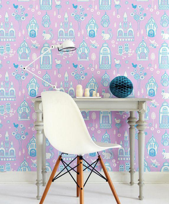 Archiv Papel pintado Slottsträdgarden azul cielo Ver habitación
