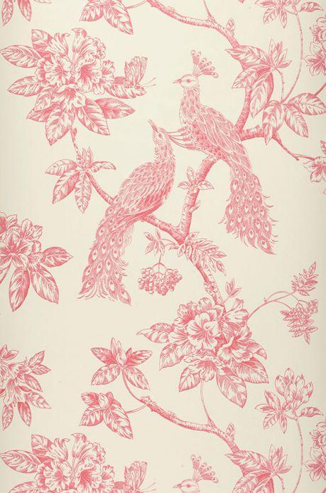 Archiv Papier peint Marenka rouge rubis Largeur de lé