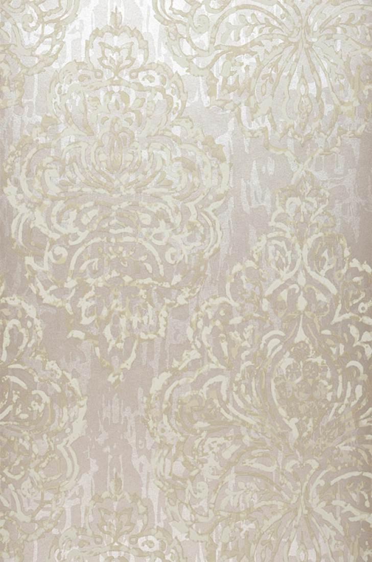 Wallpaper olivia light beige grey cream grey beige for Grey and cream wallpaper