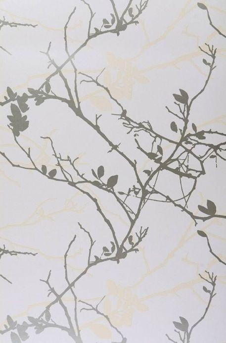 Archiv Papier peint Epona or blanc Largeur de lé