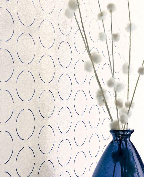 Archiv Papier peint Circles by Porsche bleu violet Vue pièce