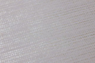 Wallpaper Melinda Matt pattern Shimmering base surface Thin stripes White silver Light grey White gold