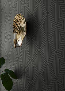 Papel de parede Dalur ouro brilhante Raumansicht