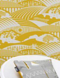 Wallpaper Ludovic lemon yellow