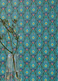 Papel pintado Imaginarium azul agua