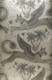 Papel de parede Lynx bege pérola