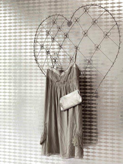 Archiv Papel pintado Apsu plata lustre Ver habitación