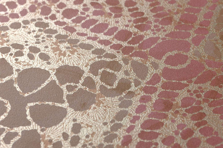 papier peint marrakesh brun p le vieux rose beige nacr. Black Bedroom Furniture Sets. Home Design Ideas