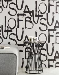 Papel pintado Urban blanco crema