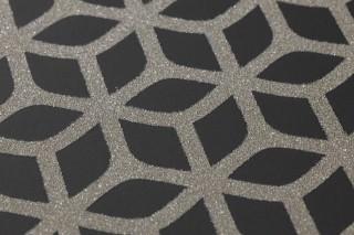 zelor noir gris argent brillant papier peint billes de verre mati res papier peint des. Black Bedroom Furniture Sets. Home Design Ideas