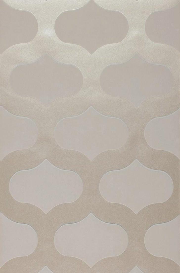 Carta da parati nanshe argento brillante bianco for Carta parati anni 70 vendita