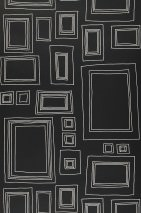 Wallpaper Frames Matt Picture frames Black White