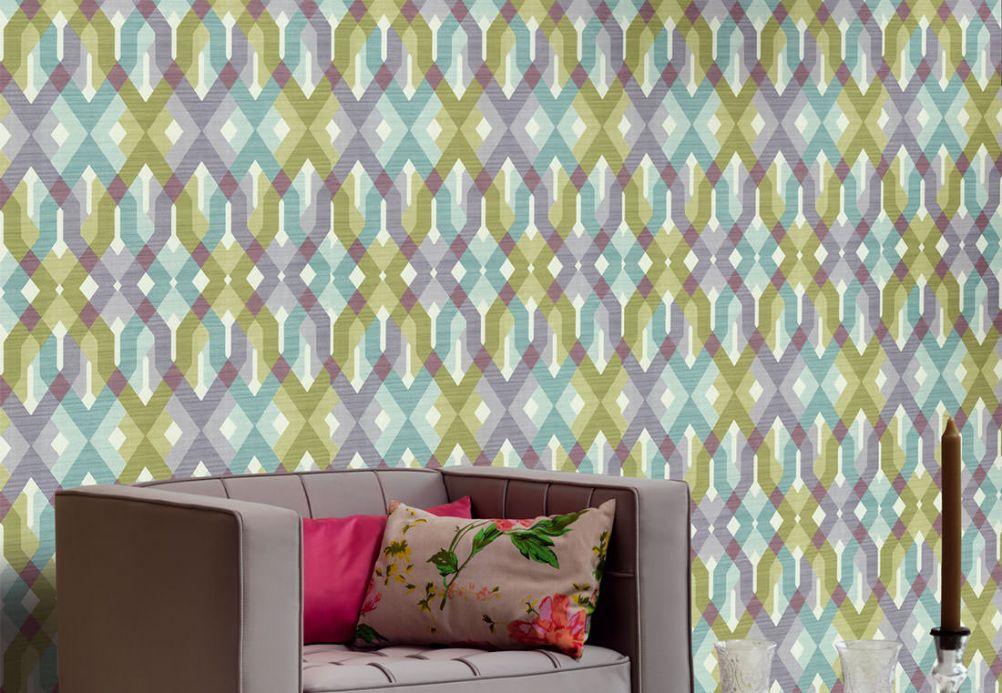 Archiv Wallpaper Karus fern green Room View