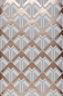 Wallpaper Nerea grey Roll Width