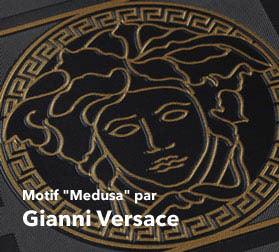 Papier Peint Versace Gamme De Luxe Pour Fashionista En Boutique