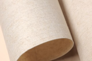Wallpaper Veruso Lino Matt Solid colour Cream Light ivory