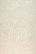 Wallpaper Adomako Shimmering pattern Matt base surface Moiré Effect Cream Cream shimmer