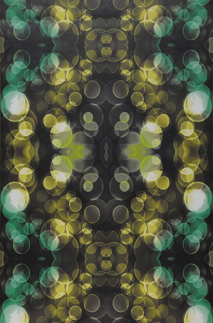 Yellow And Green Living Room Decor: Wallpaper Mendonka (Black, Yellow, Bright Green, Mint