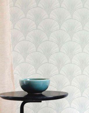 Papel de parede Nippon cinza claro brilhante Ver quarto