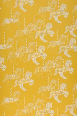 Carta da parati Trinity giallo limone Larghezza rotolo