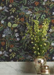 Papel de parede Juniper Forest verde negrusco