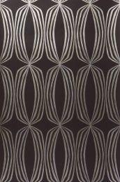 Papel de parede Levana marrom negrusco