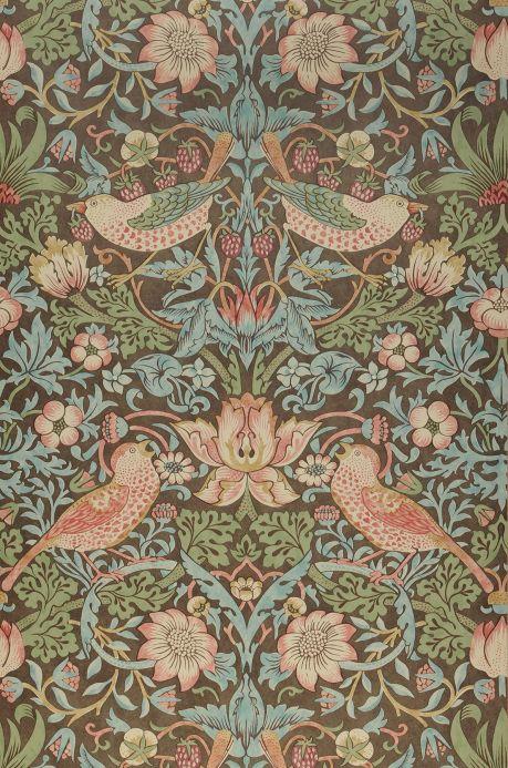 Art Nouveau Wallpaper Wallpaper Faunus grey brown Roll Width